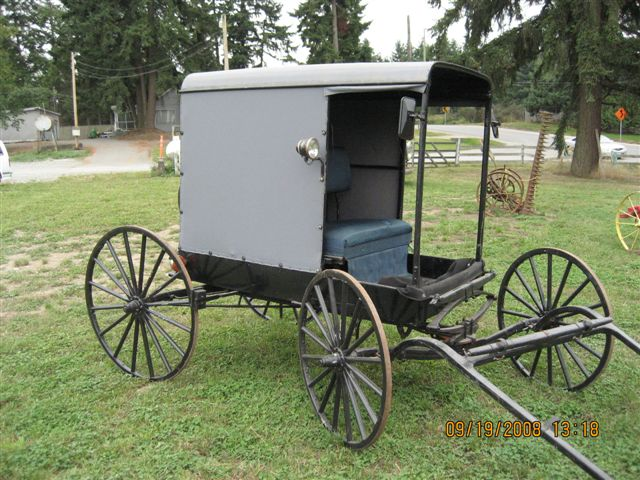 how to build an amish buggy