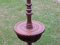 #51 – Belgium Oak Lamp Stand
