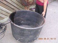 "#68 – Cast Iron ""Cauldron""  – 33"""