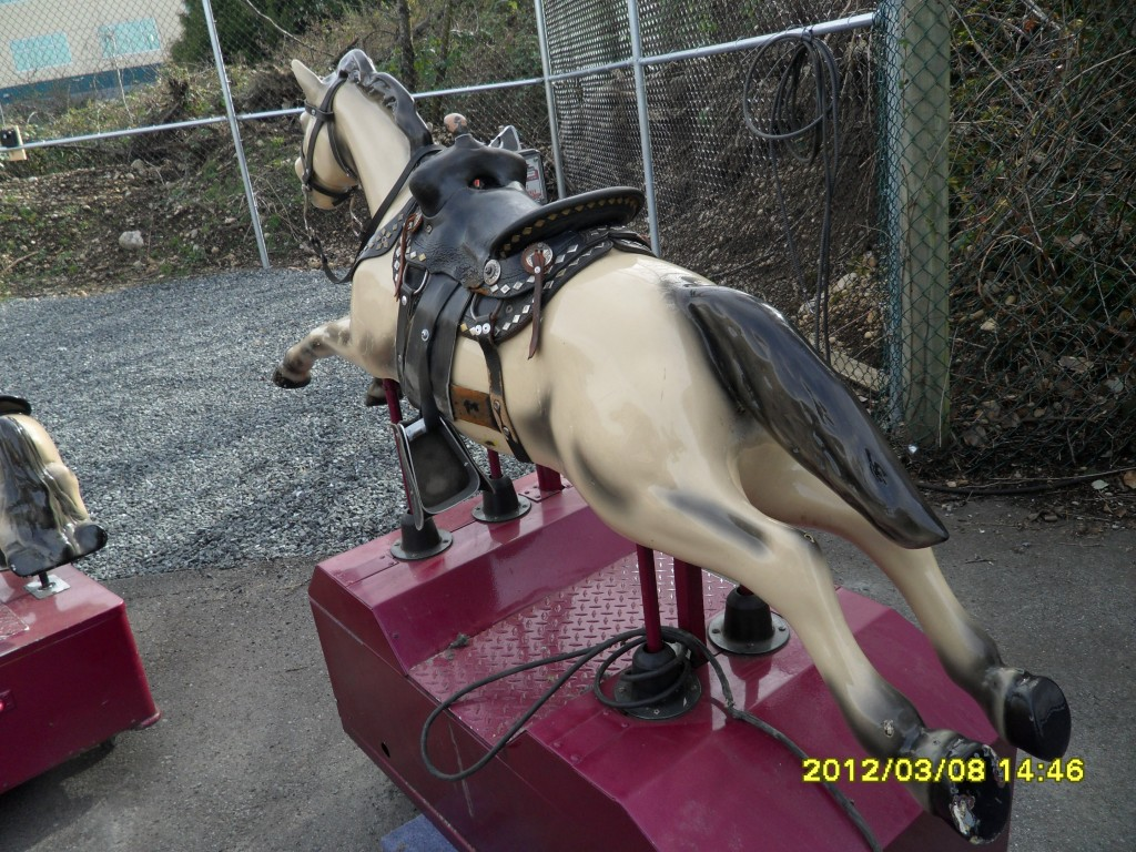 278 Kiddy Ride Champion Horse Coin Operated