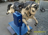 "#285 – – Kiddy ride ""Champion Horse""  Coin Operated"