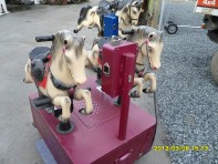 "#286 – – Kiddy ride ""Champion Horse""  Coin Operated  (Dual Small)"